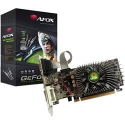 AFOX Low Profile GT730 1GB PCIe Video Graphics Card - VGA, HDMI, DVI-I with Heatsink Only. Retail Pack (AF730-1024D3L5)