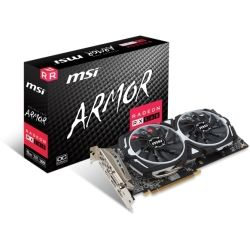 MSI AMD Radeon RX 580 Armor 8GB OC Video Graphics Card