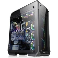 Thermaltake CA-1I7-00F1WN-00, View 71 Tempered Glass Edition Full Tower Gaming Chassis, 2yr Wty