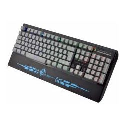 Dragon War GK-012(BL), Silent Gaming Keyboard, RGB Light System: Back Light Illumination Dedicated Media Controls: Media Play and Volume Control, Ultr