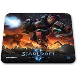 SteelSeries QcK Gaming Mouse Pad - StarCraft 2 Marauder
