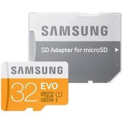 Samsung EVO MicroSD UHS-I 32GB Class 10 w/ Adaptor