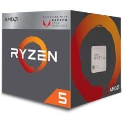 AMD Ryzen 5 2400G, 4 Core AM4 CPU, 3.9GHz 6MB 65W w/Wraith Stealth Cooler Fan RX Vega Graphics Box