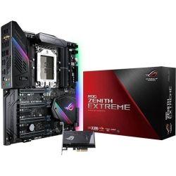 Asus ROG AMD TR4 socket, AMD X399, 8 x DIMM, max. 128GB, Multi-GPU nVidia/AMD SLI/CrossFireX, 6x SATA 6Gb/s Ports, SupremeFX S1220 Audio
