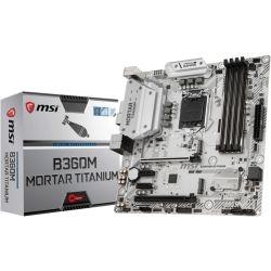 MSI B360M Mortar Titanium Intel mATX Motherboard