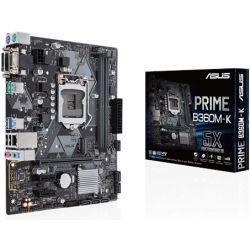 Asus Prime B360M-K Motherboard 8th Gen skt 1151
