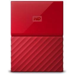 WD My Passport Ultra 1TB Portable Hard Drive HDD - 2.5 inch, USB3.0, 3yr Wty - Red