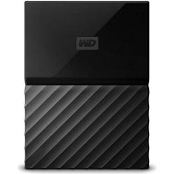 WD MY Passport Portable 2.5 inch 2TB External USB3.0 HDD with B/UP S/W (BLACK), 3YR