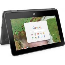 HP ChromeBook x360 11 G1 11.6 inch HD-Touch 2-in-1 Laptop - Celeron N3350, 4GB RAM, 32GB SSD, Chrome64, 1yr Wty - Gray