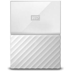 WD My Passport Ultra Portable 2.5 inch 4TB External USB3.0 HDD with B/UP S/W (White), 3yr Wty