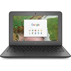 """HP Chromebook 11 G6 - 11.6"""" HD, Intel Celeron N3350, 4GB DDR4 RAM, 32GB eMMC SSD, WLAN/BT, Chrome OS 64, 1yr RTB Warranty"""