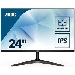 AOC 24B1H 23.6 inch VA FHD Monitor - 1920x1080, 16:9, 8ms, HDMI, VGA, Ultra Slim