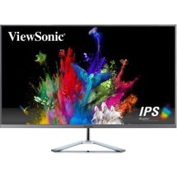 ViewSonic 31.5 inch IPS Monitor - 2560x1440, 16:9, 4ms, 80M:1, 178 degrees, HDMI, DisplayPort, Mini DisplayPort, VESA