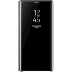 Samsung Note 9 Clear View Cover - Black