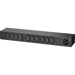 APC Rack PDU, Basic, 0U/1U, 100-240V/20A, 22