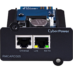 CyberPower SNMP Card to Suit ON-Line/Pro Series UPS -(RMCard305)- 2yr Adv. Replacement