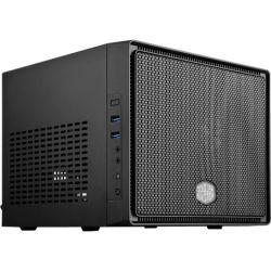 CoolerMaster Elite 110 Gaming Desktop PC - Intel Core i5 CPU, 8GB RAM, 500GB HDD, ASUS NVidia GTX1050ti 4GB Gaming Graphics, Win10, Blue LED Fan, 12 M