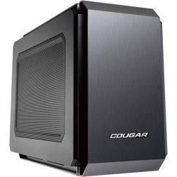 Cougar QBX Gaming Desktop PC - Intel Core i5 CPU, 8GB RAM, 500GB HDD, ASUS NVidia GTX1050 2GB Gaming Graphics, Win 10, Blue LED Fan, 12 Mth Wty