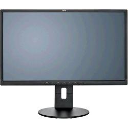 Fujitsu B24-8 TS Pro 24 inch LED Monitor - 1920x1080, 5ms, HDMI, DVI-D, VGA - Black