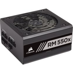 Corsair RMx Series RM550x 80 PLUS Gold Fully Modular ATX Power Supply - 10yr Warranty