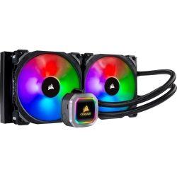 CORSAIR Hydro Series H115i RGB Platinum 280mm Liquid CPU Cooler - Dual Fan, 5yr Wty