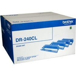 Brother DR-240CL 4-Piece Drum Set - Contains CMYK Drums (15K) - GENUINE