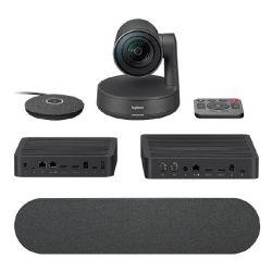Logitech Rally Ultra HD Conference System KIT, HUB (2), Speaker(1), MIC POD(1), 2yr Wty