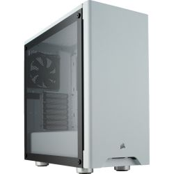 Corsair Carbide Series 275R Tempered Glass Mid-Tower Gaming Case - White