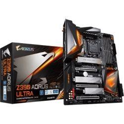 Gigabyte Z390 AORUS Ultra LGA1151 9Gen ATX MB 4xDDR4 6xPCIe HDMI 3xM.2 6xSATA RAID Intel GbE LAN SLI CF 2x USB-C 7xUSB3.1 BT Wi-Fi RGB