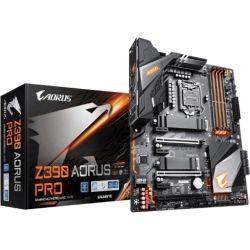Gigabyte Z390 AORUS Pro LGA1151 9Gen ATX MB 4xDDR4 6xPCIe HDMI 2xM.2 6xSATA RAID Intel GbE LAN SLI CF 2x USB-C 7xUSB3.1 BT Wi-Fi RGB