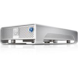 G-DRIVE Thunderbolt USB 3.0 10TB Professional Desktop Hard Drive, 7200RPM SATA III Drive, USB 3.0/Thunderbolt, Silver