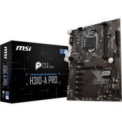 MSI H310-A Pro Intel ATX MB