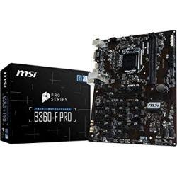 MSI B360-F Pro Intel ATX Mining