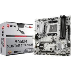 MSI B450M Mortar Titanium AMD MATX MB