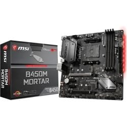 MSI B450M Mortar AMD MATX MB