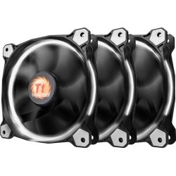 Thermaltake CL-F055-PL12WT-A, Riing 12 White High Static Pressure LED Radiator Fan (3 Fans Pack), 2yr