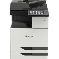 Lexmark A3 Colour Laser MFP, 10 Colour touch screen, 35ppm, 2x 500 Sheets, 1.2Ghz processor, 2GB RAM, 1200x1200dpi, 4K-20k pgs/mth, Network, Duplex, 1