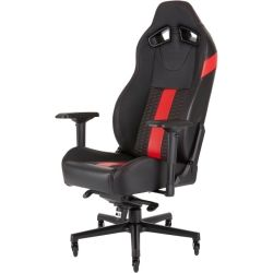 Corsair T2 Road Warrior, High Back Desk and Office Chair, Black/Red, 2yr Warranty