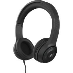 iFrogz Aurora Wired Headphones with Mic - Black