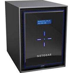 Netgear ReadyNAS 426 - 6-Bay Business NAS (No Disks) Quad Core 2.1GHz High Performance Intel Atom C3538 Processor 4GB DDR4 RAM SA