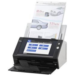 Fujitsu Network Scanner, 25ppm (50 IPM), A4, Duplex, NET, 8.4IN TSCRN 1yr RTB WTY
