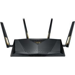 Asus AX6000 Wireless MU-MIMO Dual Band ROUTER, GbE(8), USB 3.1(2), ANT(4), 3yr Wty
