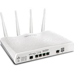 DrayTek Vigor2862ac Multi WAN Firewall Router VDSL2/ADSL2+ Gigabit 3G/4G USB WAN Port Load Balance Fail-over 4xGiga LANs CSM 32xVPNs ~MOD-DV2860AC