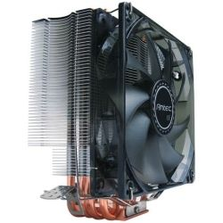 Antec C400 Air CPU Cooler 120mm Blue LED 77 CFM, Intel 775, 115X, 1366, 2011, AMD: AM2, AM2+, AM3, AM3+, FM1, FM2, FM2+