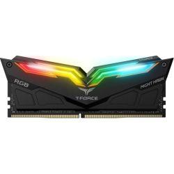 Team T-Force Night Hawk RGB Series DDR4 3200MHz Dual channel 2x 8GB - Black