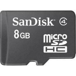 SanDisk microSDHC Card 8GB Mobile RTL AUS