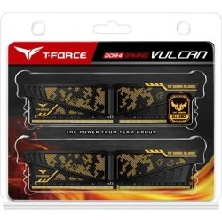 Team TUF Gaming Alliance 32GB (2x 16GB) DDR4 3000Mhz DIMM, Yellow Heatspreader