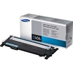 Samsung CLT-C406S/SEE CLT-C406S Cyan Toner (1K) - GENUINE