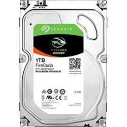Seagate 1TB FireCuda SSHD 3.5 inch, 6Gb/S SATA 64MB + 8GB NAND