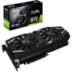 ASUS DUAL-RTX2080-8G GeForce RTX2080 8GB GDDR6 Graphics Card